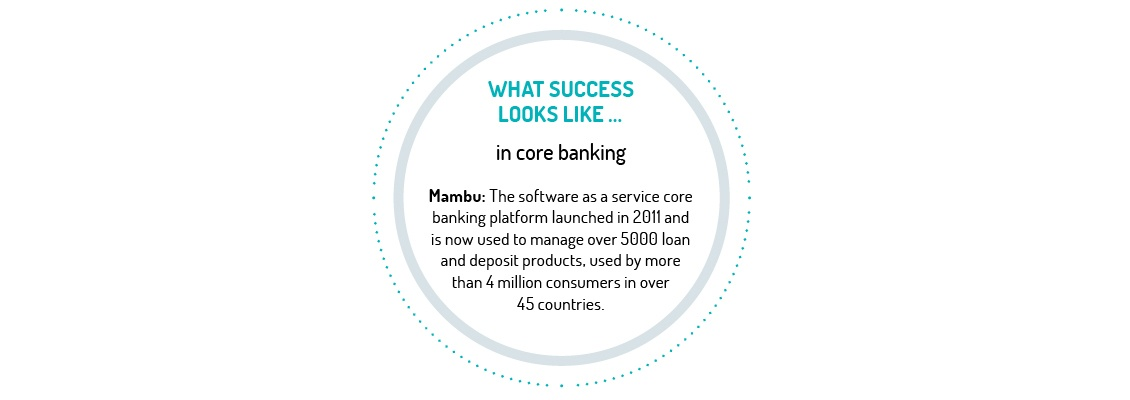 What success looks like in core banking